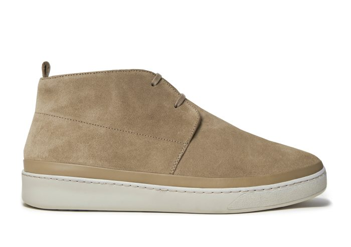 Tan Suede Desert Boots for Men