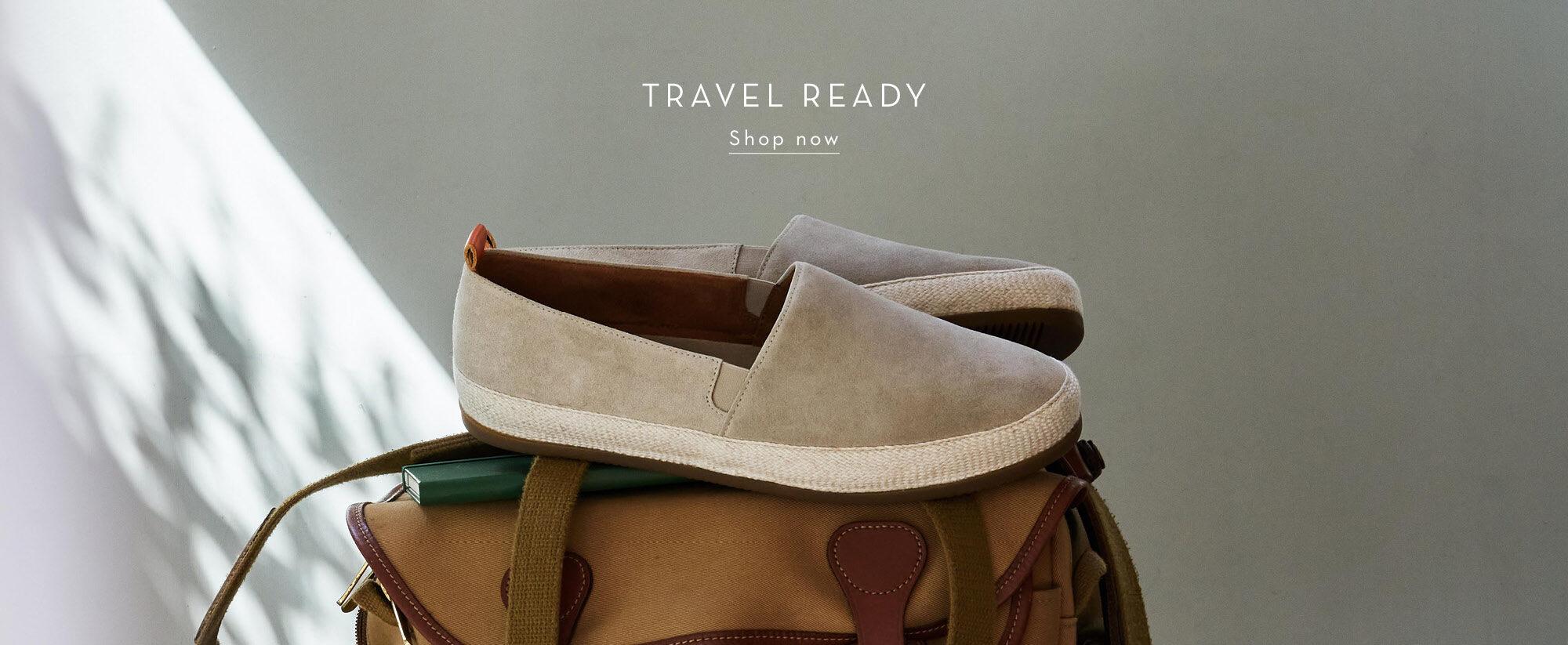 Travel Essentials - Espadrilles for Men