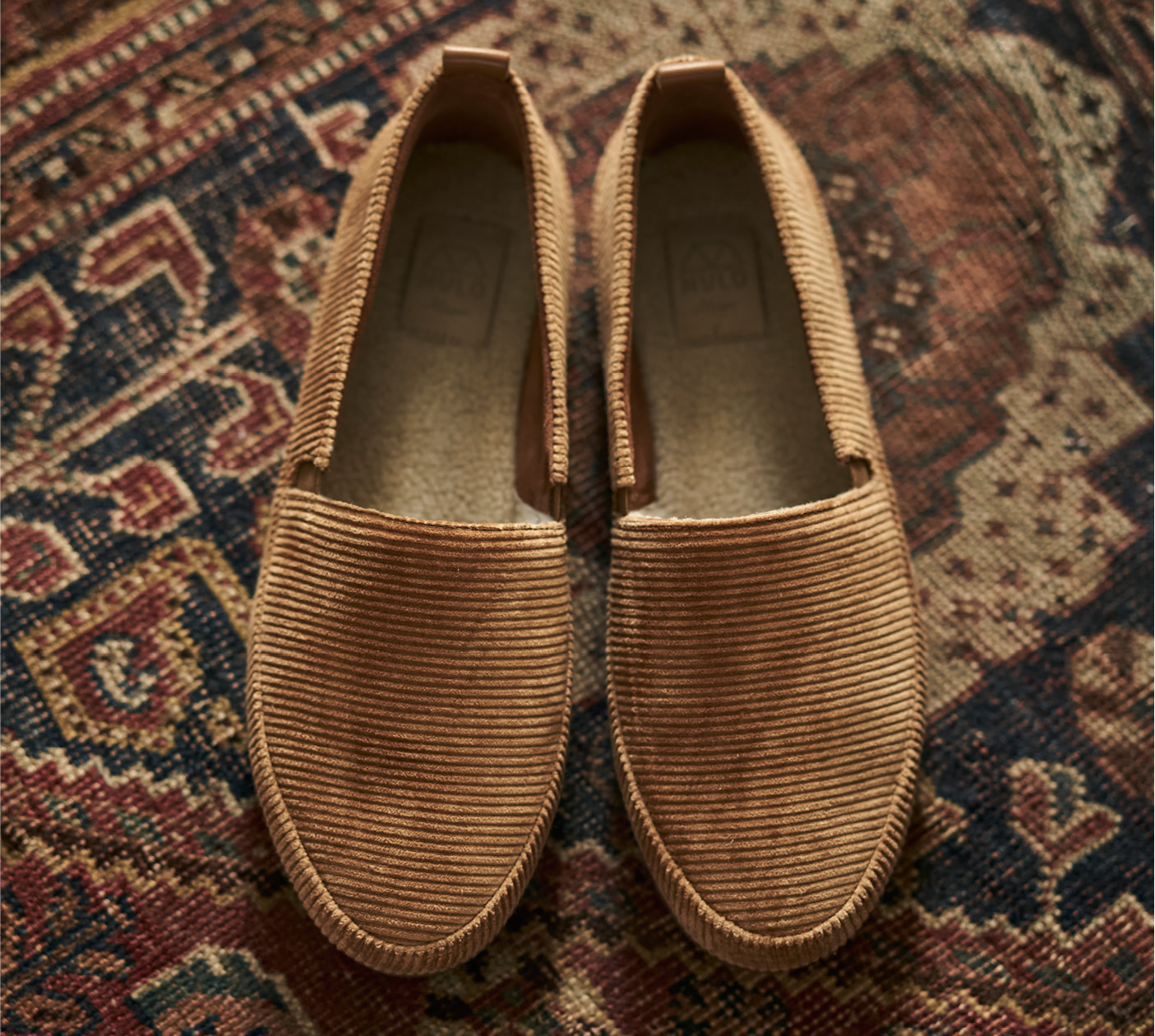 WFH Style - Mens Slippers in Corduroy